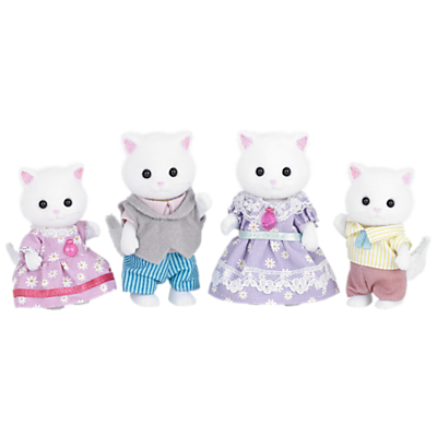 Product photo of Sylvanian families persian cat family