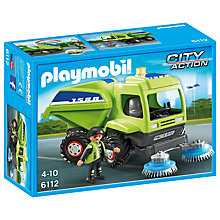 Buy Playmobil City Street Cleaner Online at johnlewis.com