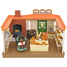 Buy Sylvanian Families Brick Oven Bakery Playset Online at johnlewis.com