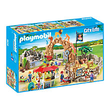 Buy Playmobil City Life Large City Zoo Online at johnlewis.com