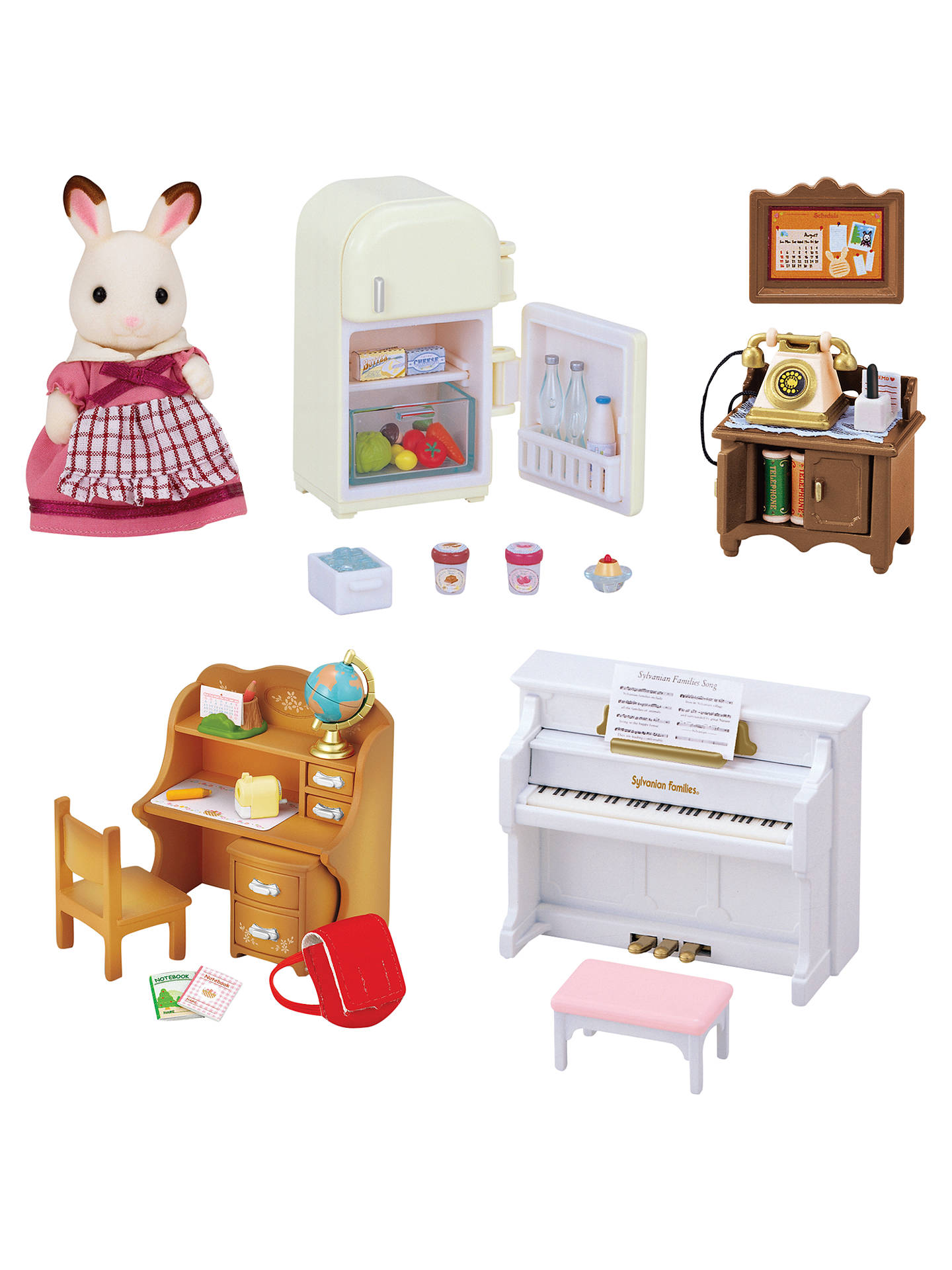 Buysylvanian families classic furniture set online at johnlewis com