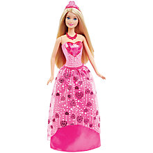 Buy Barbie Princess Gem Fashion Doll Online at johnlewis.com