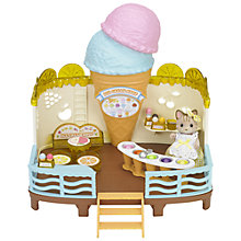 Buy Sylvanian Families Seaside Ice Cream Shop Online at johnlewis.com