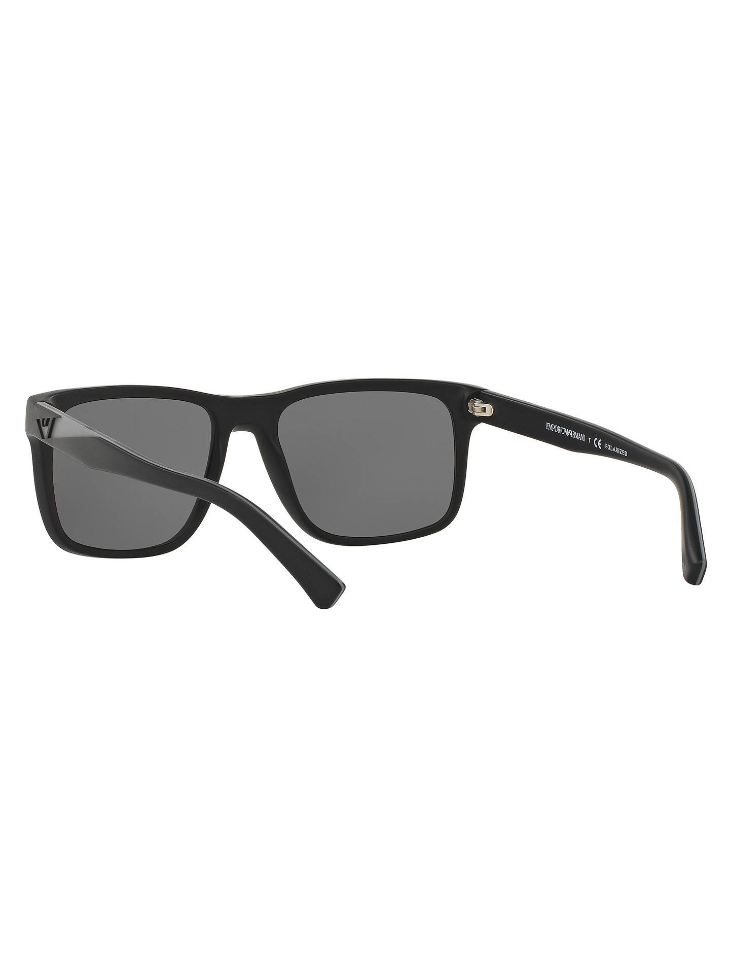 89e2d60270e7 ... Buy Emporio Armani EA4071 Polarised Square Sunglasses