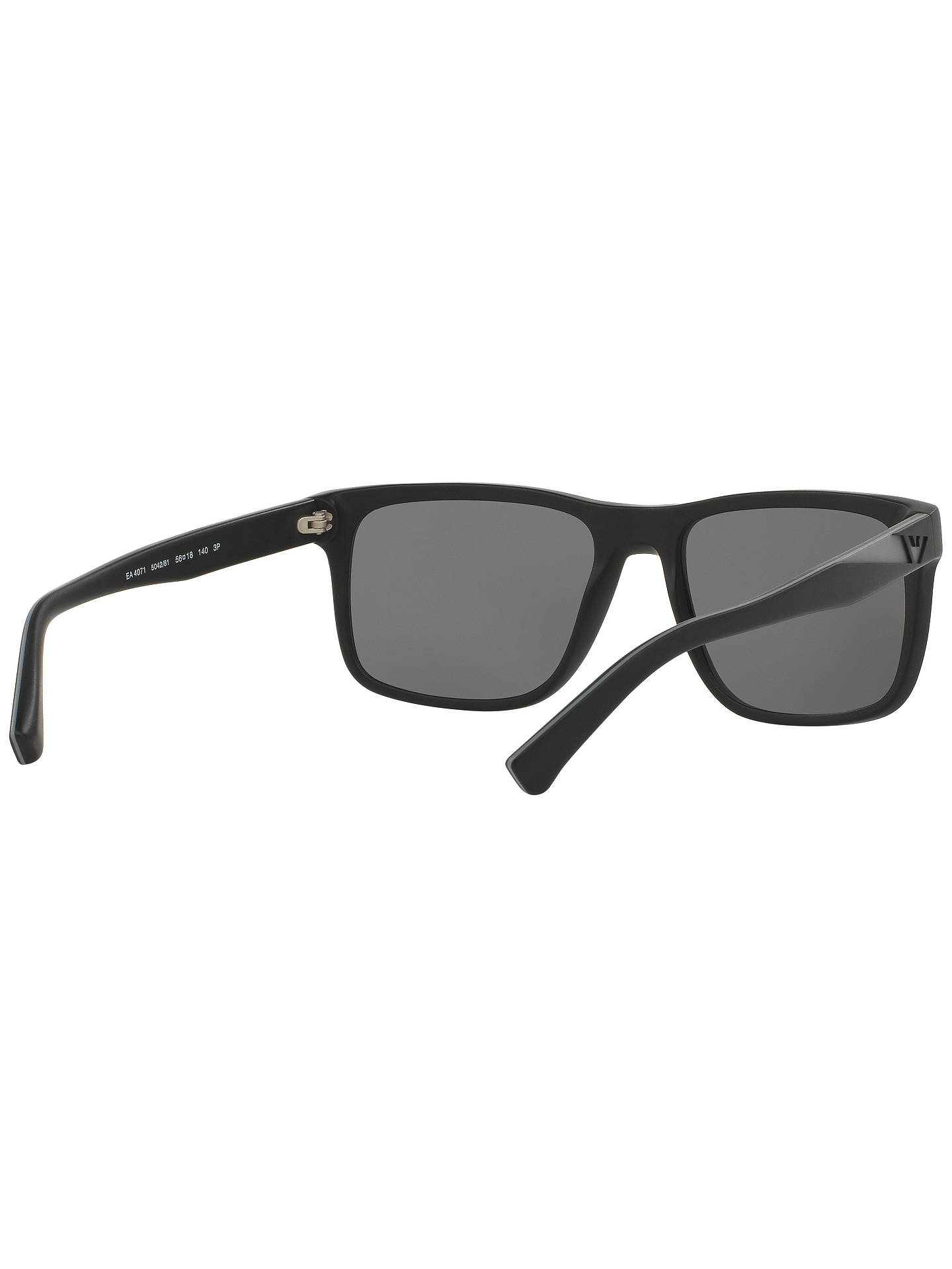 89e2d60270e7 ... Buy Emporio Armani EA4071 Polarised Square Sunglasses