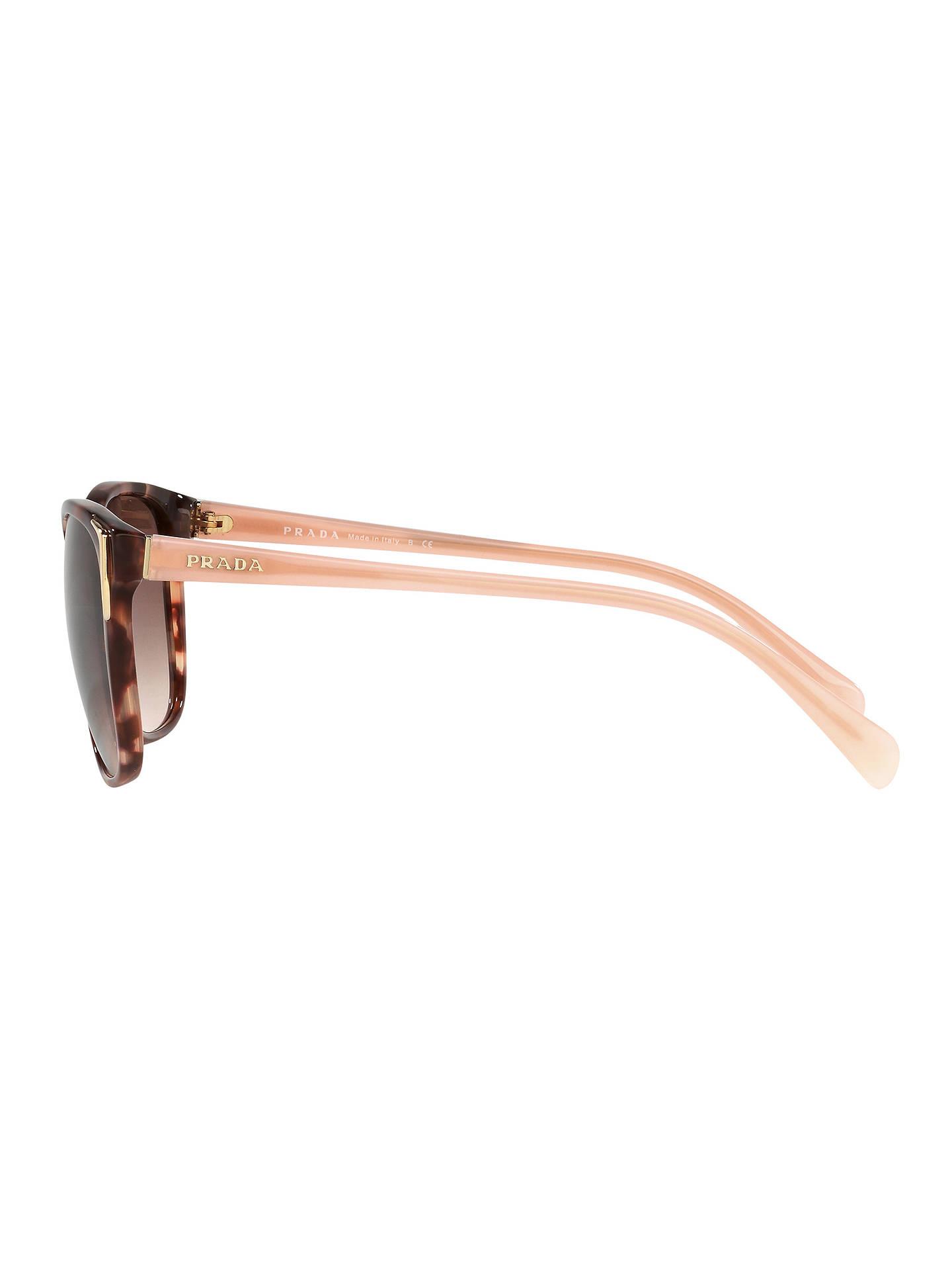 d9db7b8de37 Prada PR 01OS Square Sunglasses at John Lewis   Partners