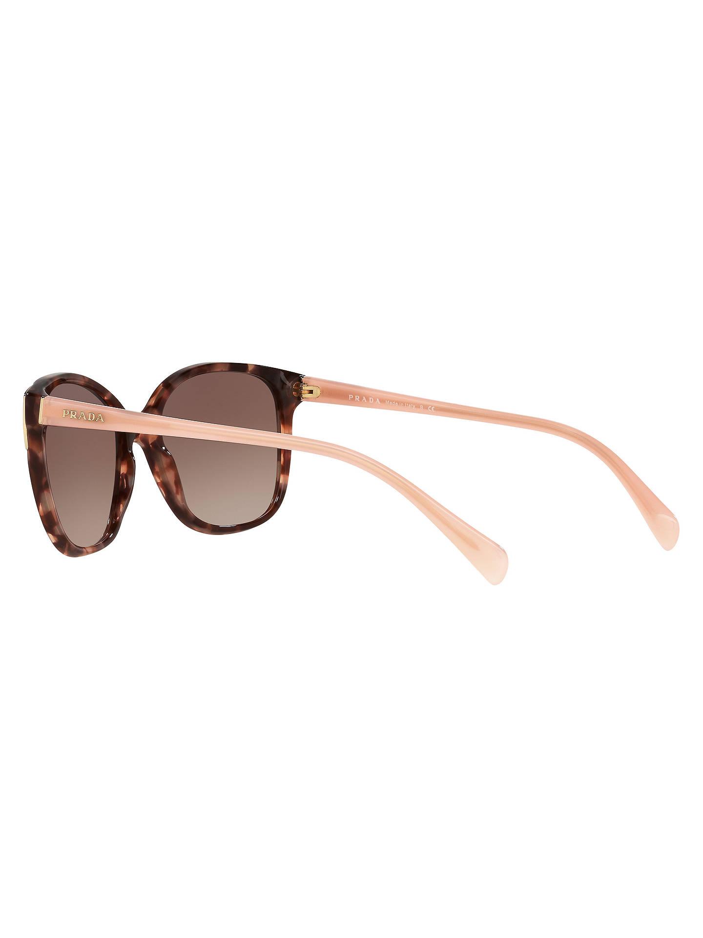 244d753db06e Prada PR 01OS Square Sunglasses at John Lewis   Partners
