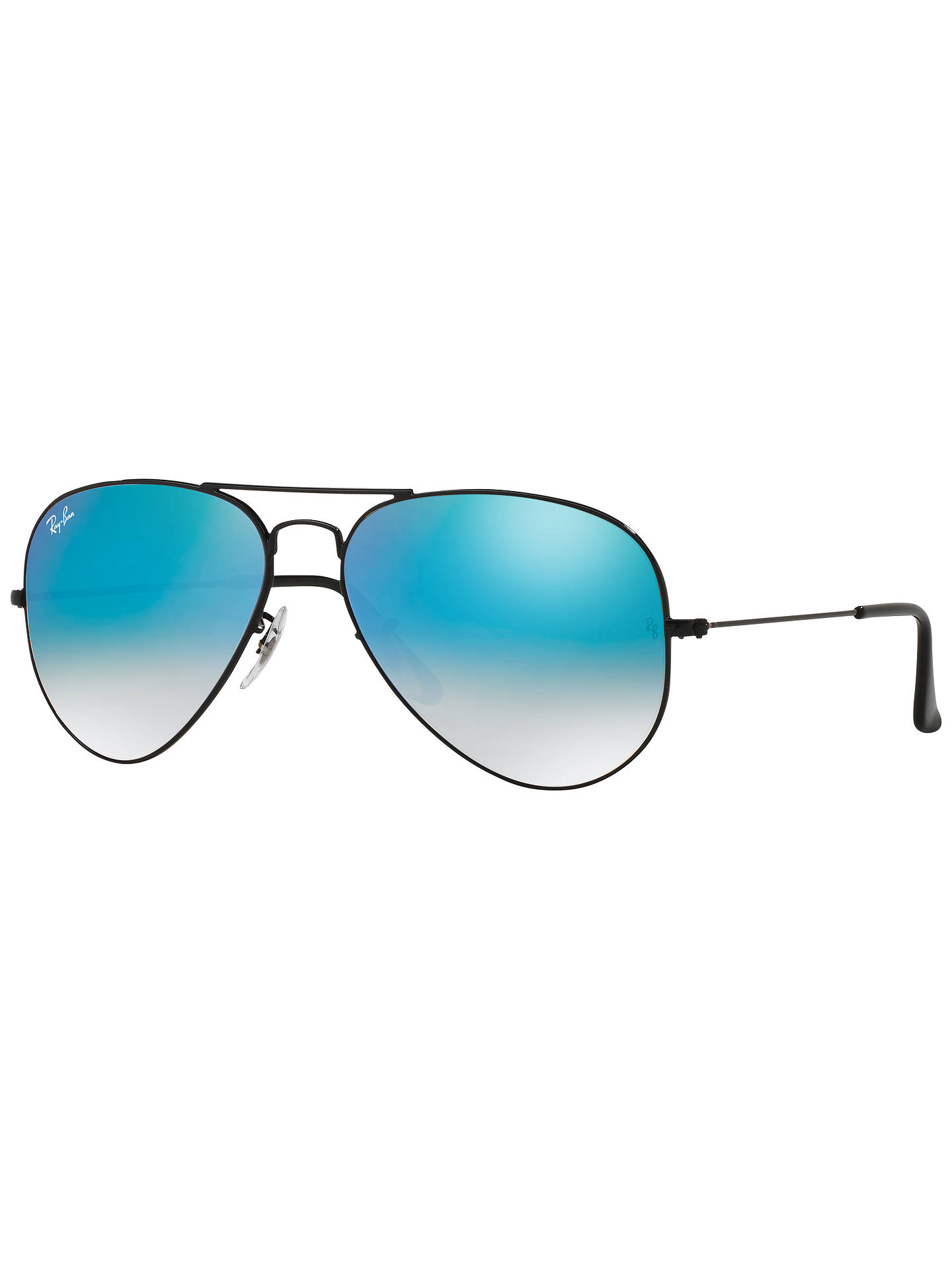 510f8477786ee sweden buyray ban rb3025 original aviator sunglasses black mirror turquoise  online at johnlewis. 0268e 28064