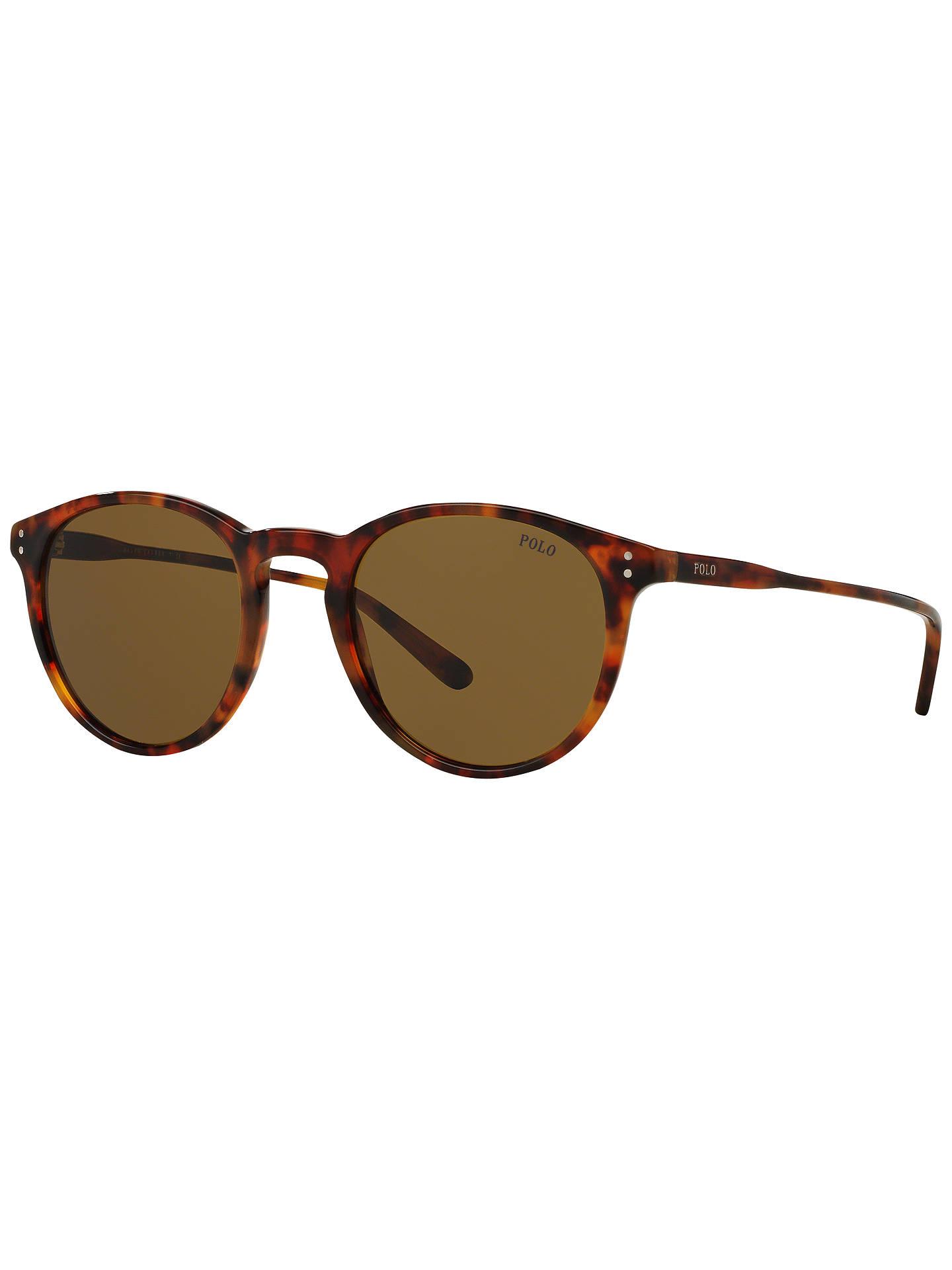 5d0b8e159d7ca Polo Ralph Lauren PH4110 Men s Oval Sunglasses at John Lewis   Partners