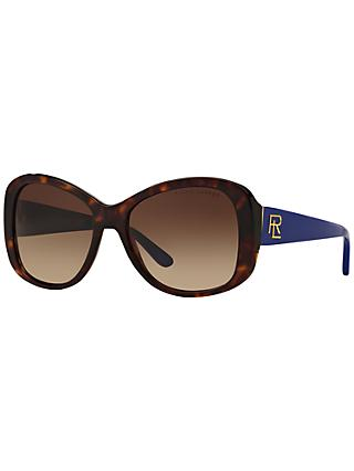 Ralph Lauren RL8144 Gradient Cat's Eye Sunglasses