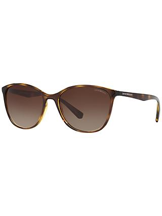 Emporio Armani EA4073 Cat's Eye Sunglasses