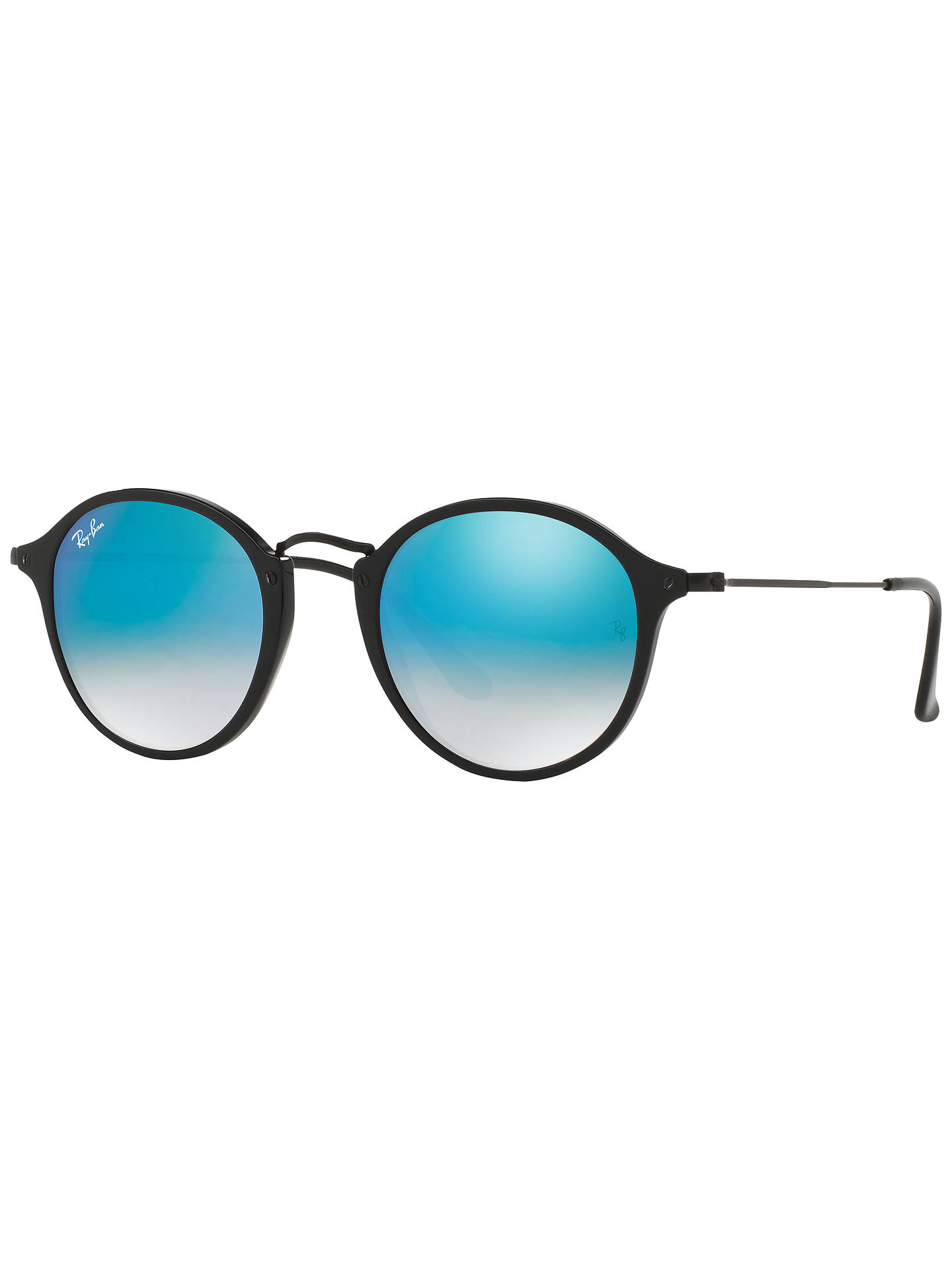e3a82a49a8d Ray-Ban RB2447 Round Fleck Sunglasses at John Lewis   Partners