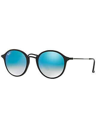 aaa664d618 Ray-Ban RB2447 Round Fleck Sunglasses
