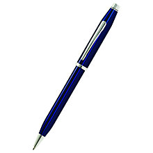 Buy Cross Century II Ballpoint Pen, Blue Lacquer Online at johnlewis.com