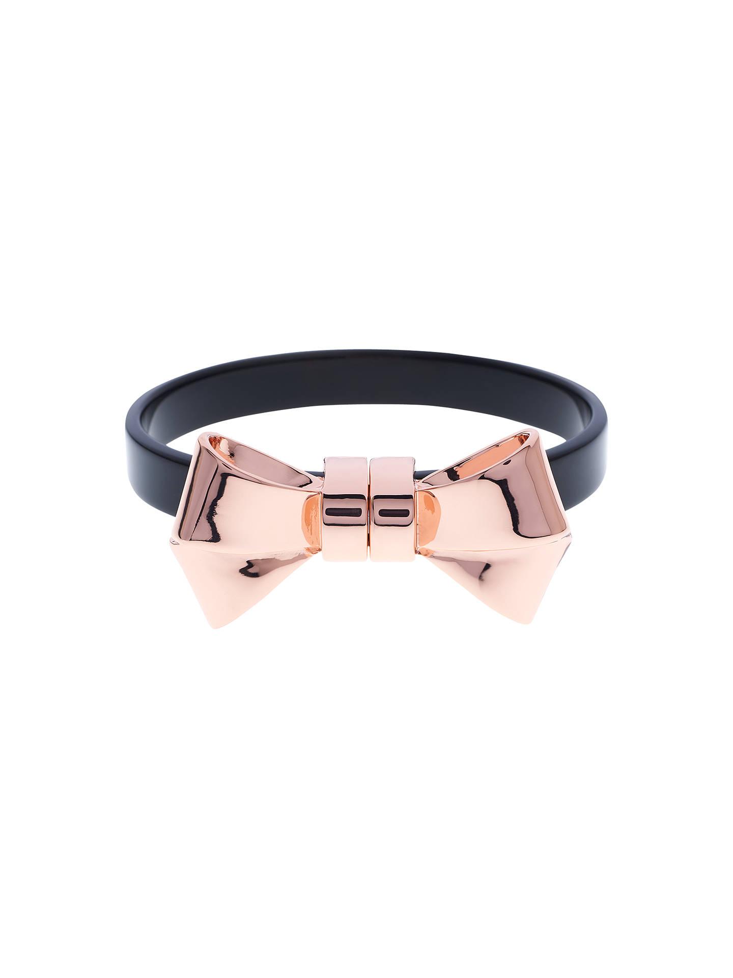 1f1a3083a64f Ted Baker Kelsa Bow Bracelet at John Lewis   Partners