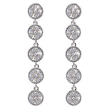 Buy Ted Baker Rizza Drop Crystal Earrings, Silver Online at johnlewis.com