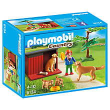 Buy Playmobil Country Golden Retrievers with Toy Online at johnlewis.com