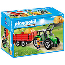 Buy Playmobil Country Farm Large Tractor Online at johnlewis.com
