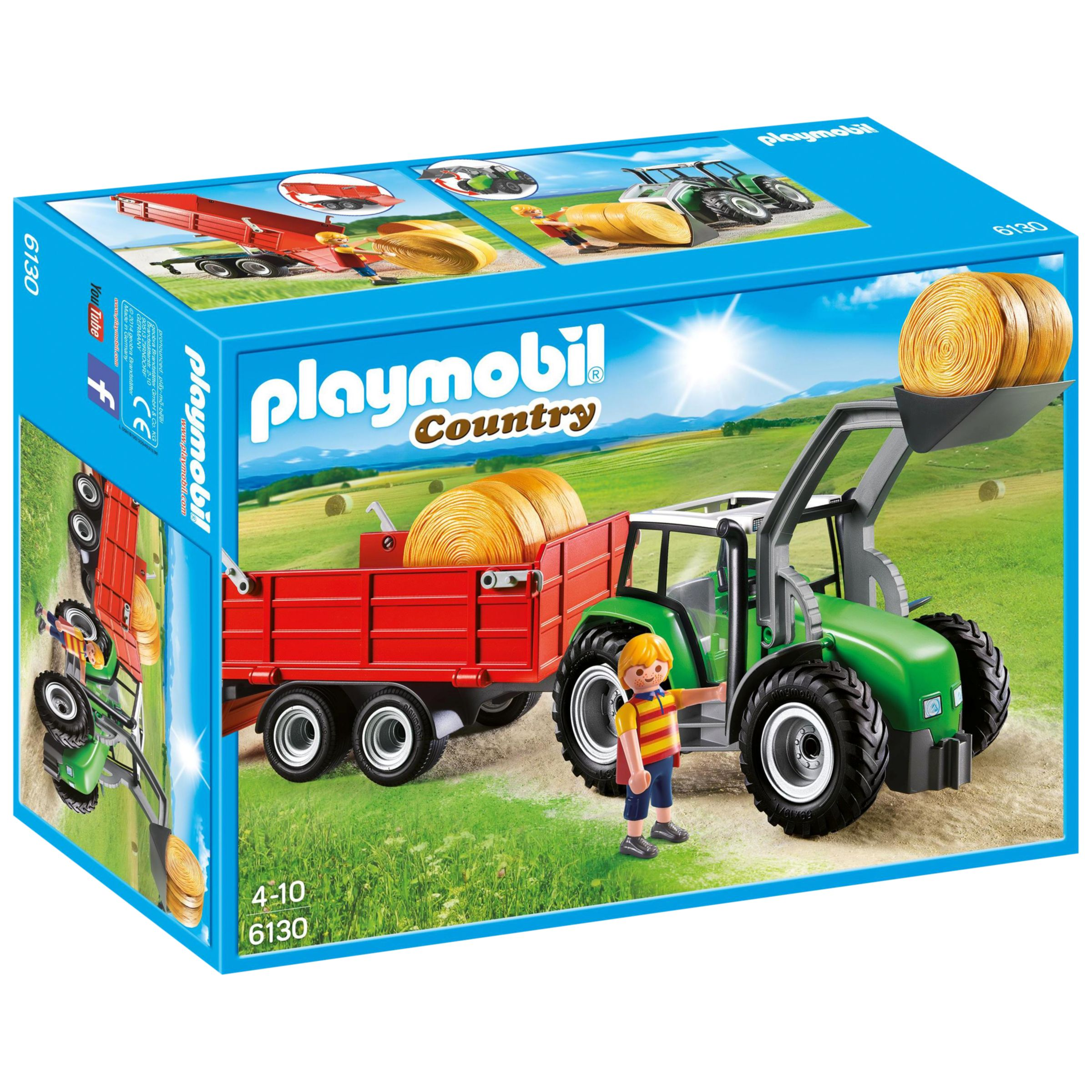 Playmobil Country Farm Large Tractor Bluewater 163 19 99