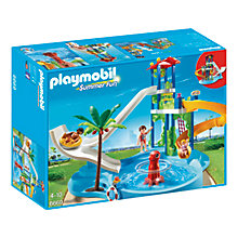 Buy Playmobil Summer Fun Water Park With Slide Online at johnlewis.com