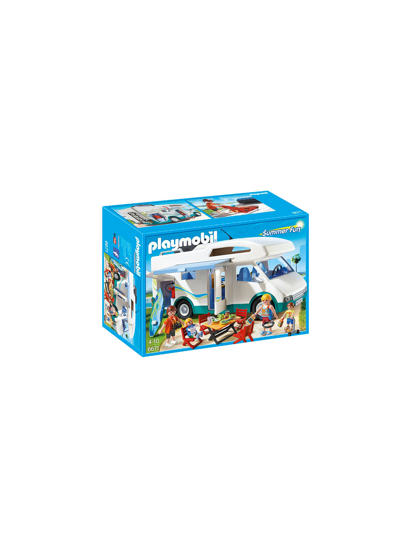 Buy Playmobil Summer Fun Camper Online at johnlewis.com