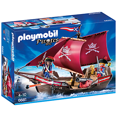 Playmobil Pirate Soldiers Patrol Boat