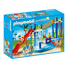 Buy Playmobil Summer Fun Water Park Play Area Online at johnlewis.com