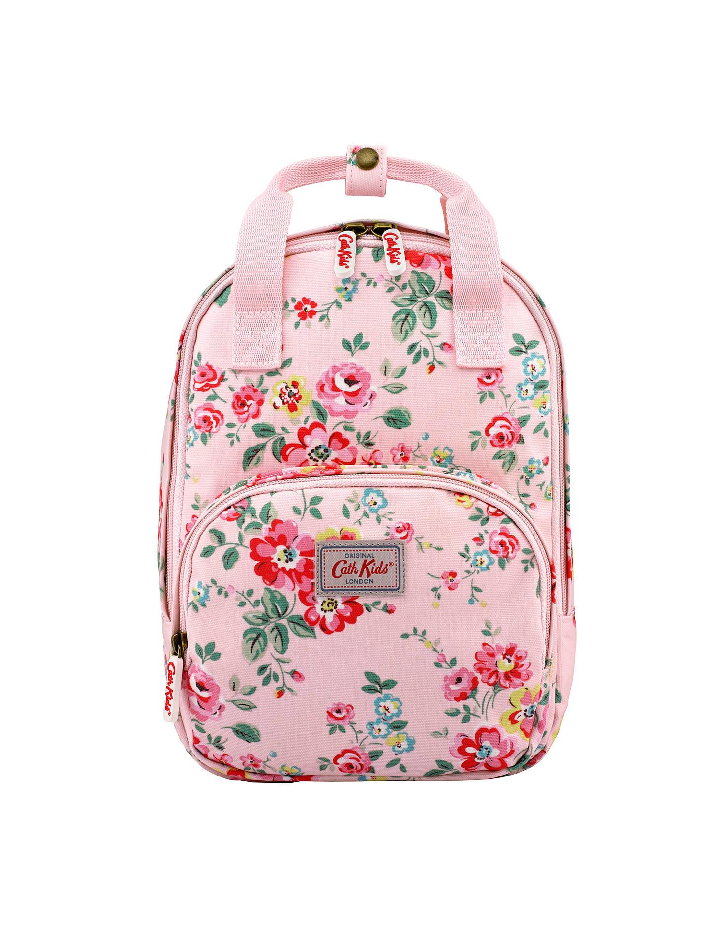 cd0db2175d Buy Cath Kidston Children's Medium Floral Backpack, Pale Pink Online at  johnlewis.com