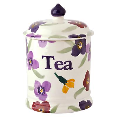 Emma Bridgewater Wallflower Tea Storage Jar