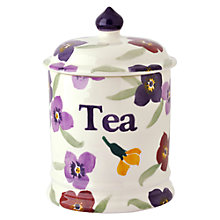 Buy Emma Bridgewater Wallflower Tea Storage Jar Online at johnlewis.com