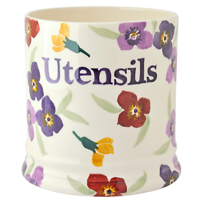 Emma Bridgewater Wallflower Utensil Storage Jar