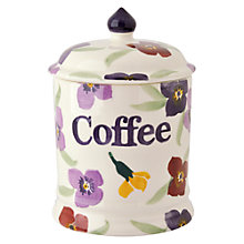 Buy Emma Bridgewater Wallflower Coffee Storage Jar Online at johnlewis.com