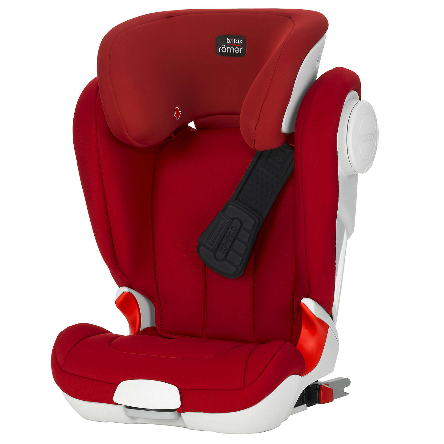 britax r mer kidfix xp sict group 2 3 car seat flame red at john lewis. Black Bedroom Furniture Sets. Home Design Ideas