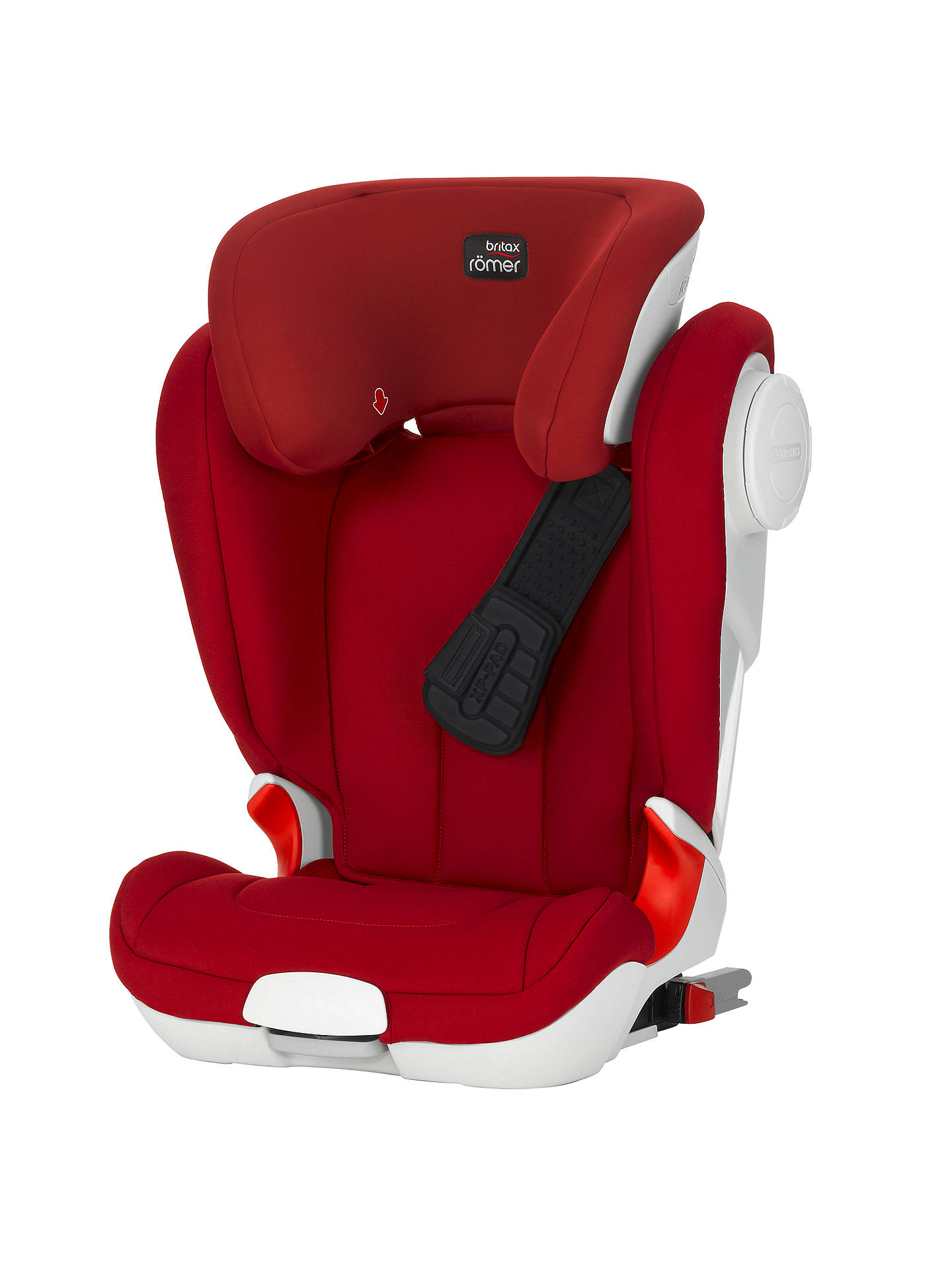britax r mer kidfix xp sict group 2 3 car seat flame red at john lewis partners. Black Bedroom Furniture Sets. Home Design Ideas