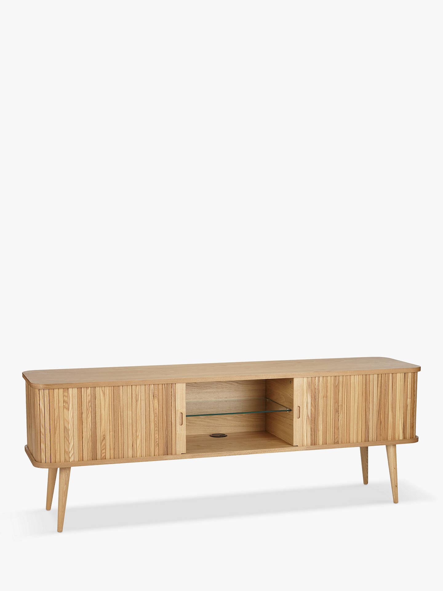 John Lewis Partners Grayson Large Tv Stand For Tvs Up To 65 Natural