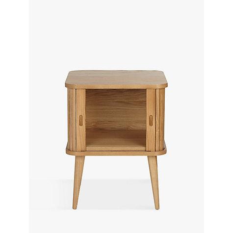 buy john lewis grayson storage side table john lewis. Black Bedroom Furniture Sets. Home Design Ideas