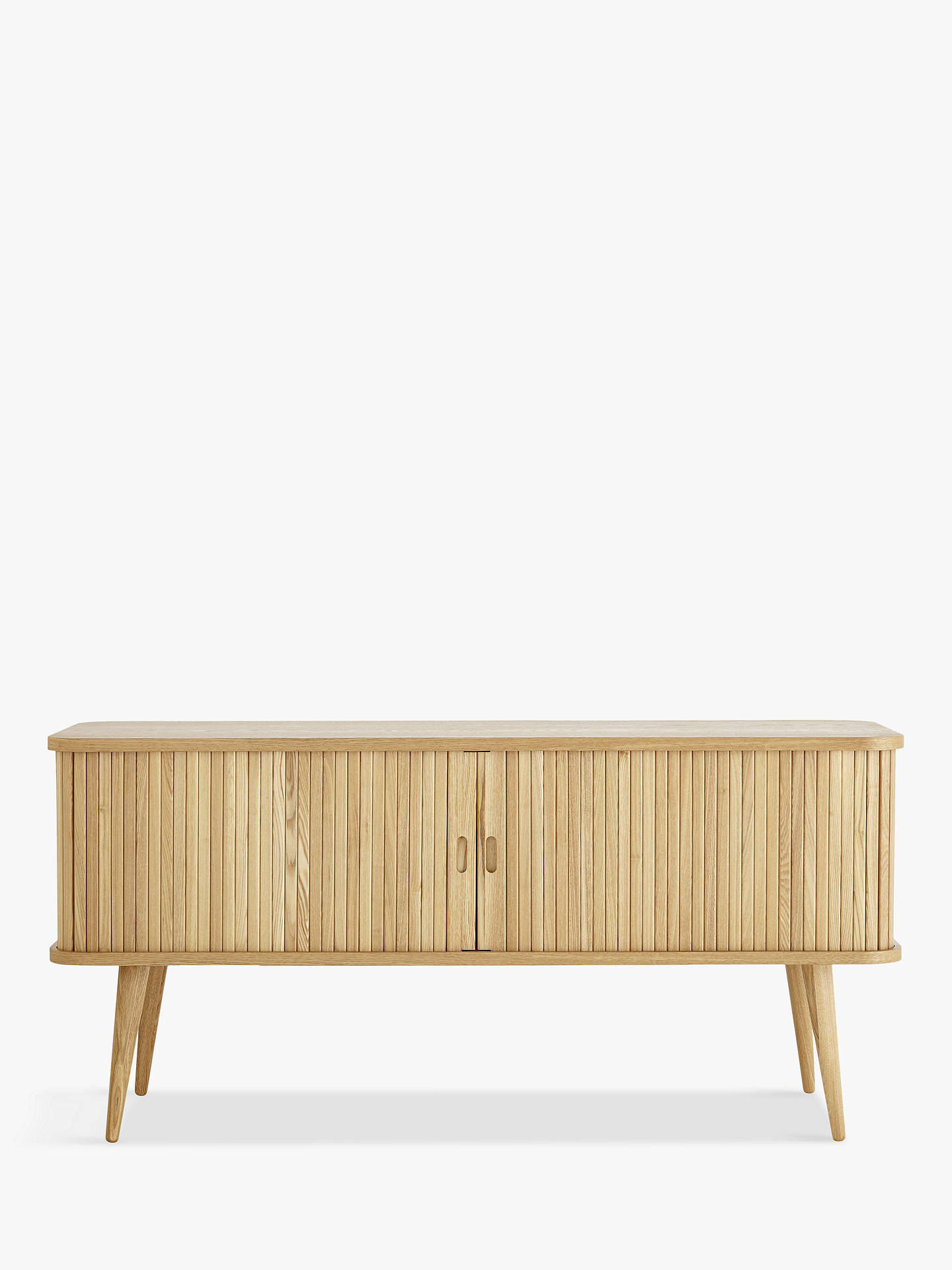 "BuyJohn Lewis & Partners Grayson TV Stand for TVs up to 42"", Natural Online at johnlewis.com"