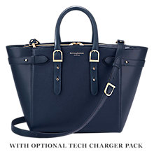 Buy Aspinal of London Marylebone Medium Leather Tote Bag Online at johnlewis.com