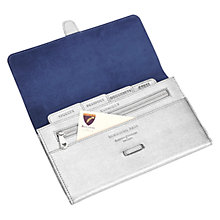 Buy Aspinal of London Flapover Travel Wallet Online at johnlewis.com