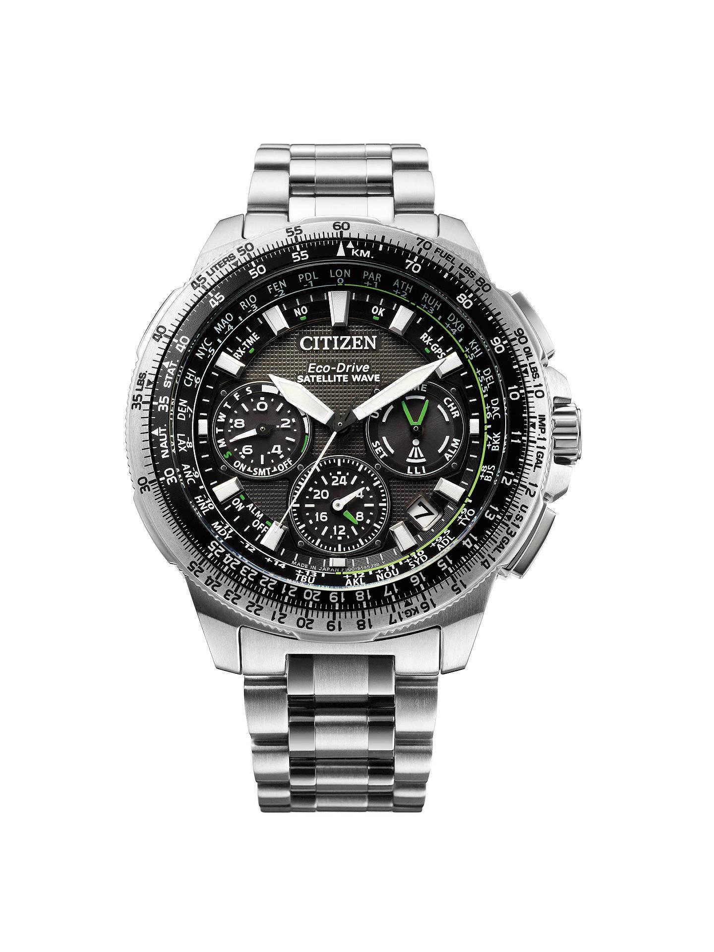 bc890c327c0 BuyCitizen CC9030-51E Men s Promaster Navihawk GPS Chronograph Date  Bracelet Strap Watch