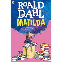 Buy Matilda Book Illustrated by Quentin Blake Online at johnlewis.com