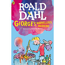 Buy George's Marvellous Medicine Book Illustrated by Quentin Blake Online at johnlewis.com