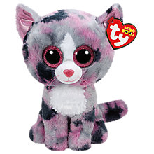 Buy Ty Beanie Boos Lindi Soft Toy, 24cm Online at johnlewis.com