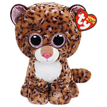 Buy Ty Beanie Boos Patches Soft Toy, 24cm Online at johnlewis.com