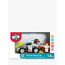 Buy WOW Toys Richie Race Car Online at johnlewis.com