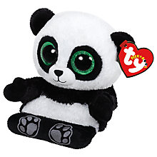 Buy Ty Poo Panda Peek-A-Boo Soft Toy Online at johnlewis.com