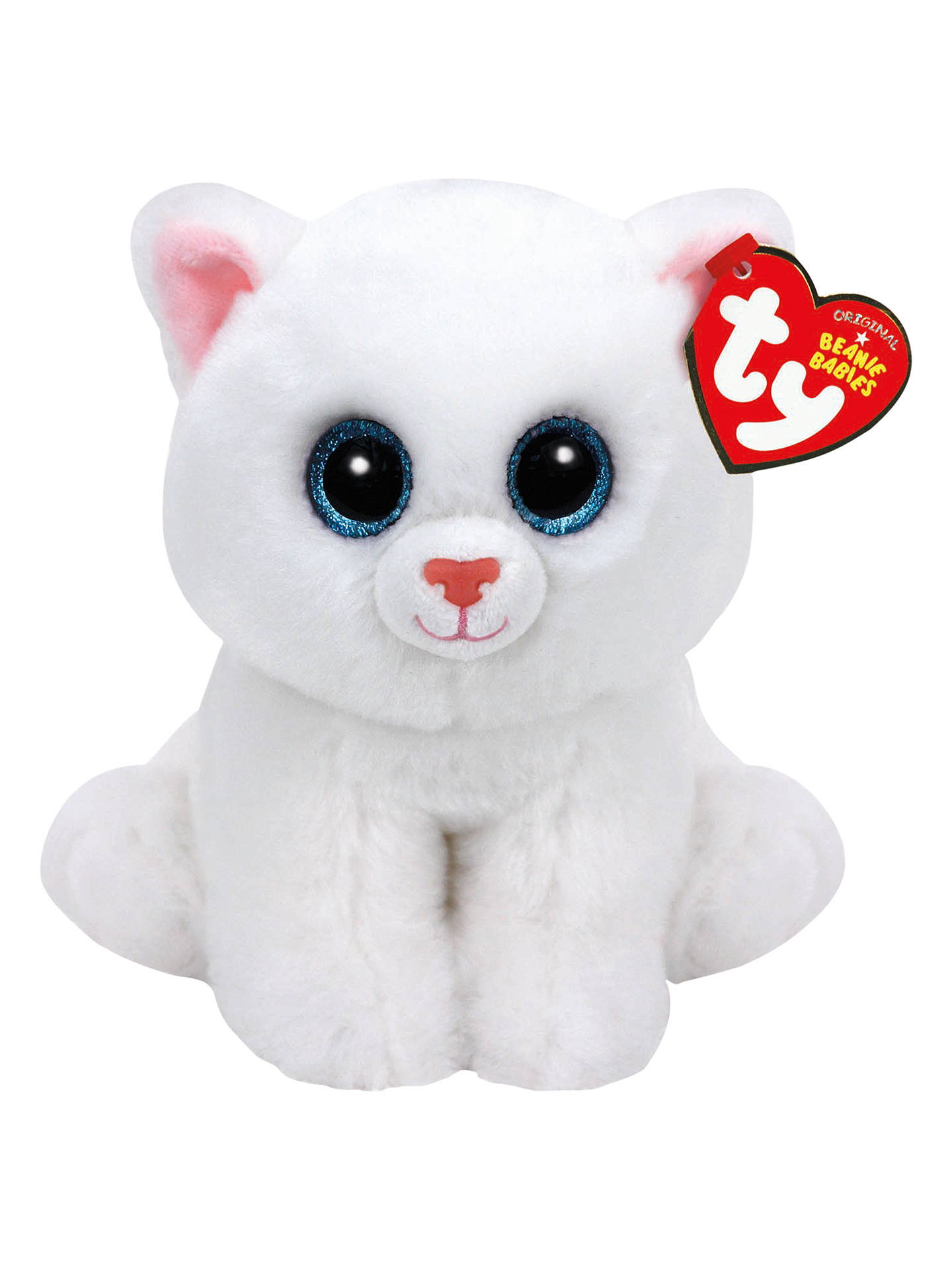 05fa402877c1 Buy Ty Beanie Babies Pearl Cat Soft Toy
