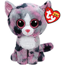 Buy Ty Beanie Boos Lindi Soft Toy, 16cm Online at johnlewis.com