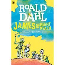 Buy James & The Giant Peach Book Illustrated by Quentin Blake Online at johnlewis.com