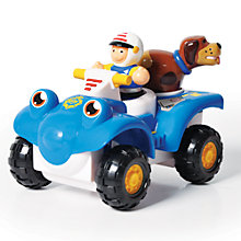 Buy WOW Toys Police Buggy Bobbie Online at johnlewis.com